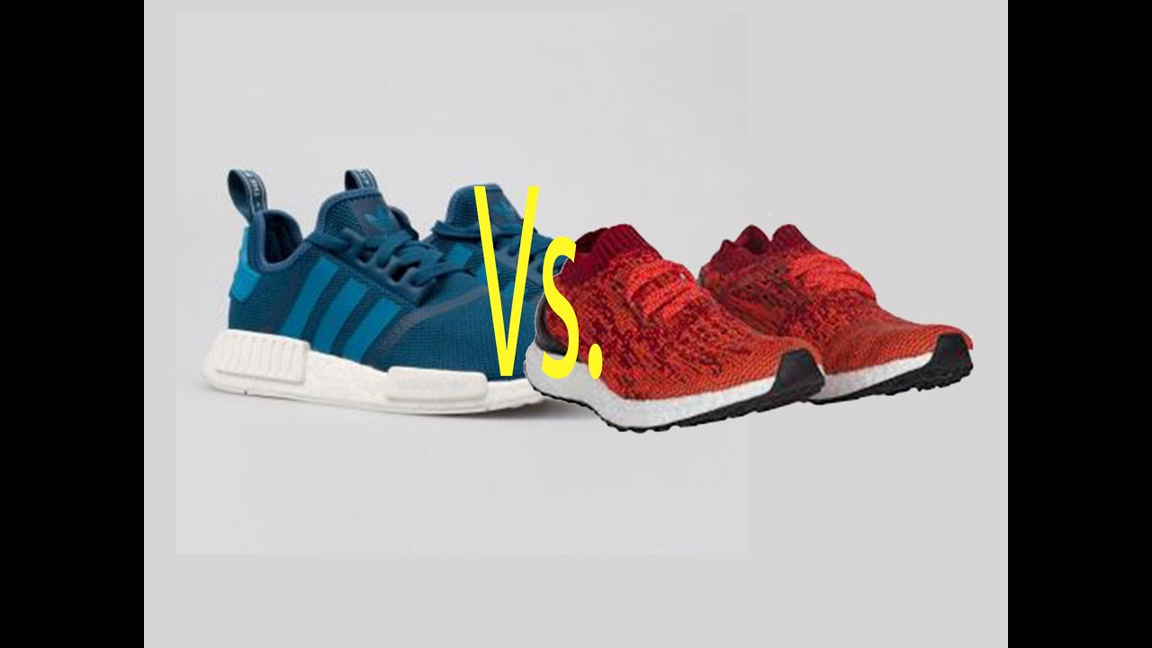 buy popular 3583e c252d Adidas NMD blue vs Adidas Ultra Boost orange Unboxing Tommy Jay - YouTube  ...