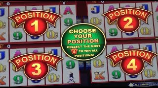 Wonder 4 GOLD ✦LIVE PLAY✦ Slot Machine Pokie at San Manuel, SoCal