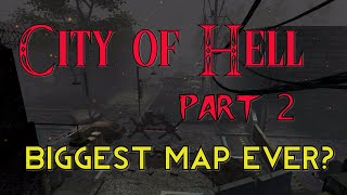 """HUGE ZOMBIE PLAYGROUND! (COD Custom Zombies) """"CITY OF HELL"""" - Part 2 