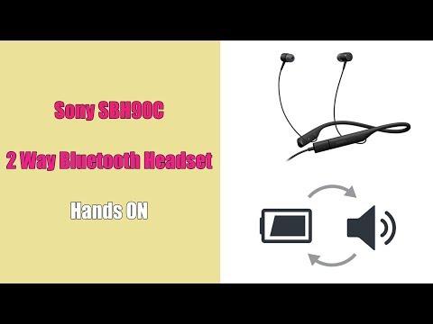 Sony 2-way Style USB Audio & Bluetooth® Headset SBH90C - Anteprima MWC2018
