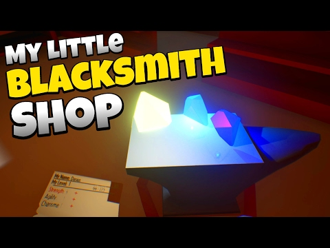The Mysterious Crystals! - Let's Play My Little Blacksmith Shop Gameplay