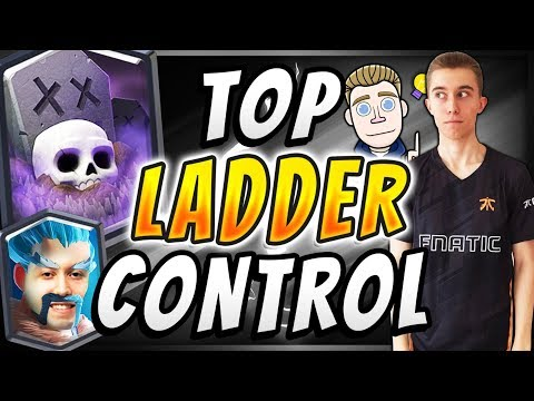 #4 IN THE WORLD! GRAVEYARD PRO TIPS & TRICKS!— Clash Royale