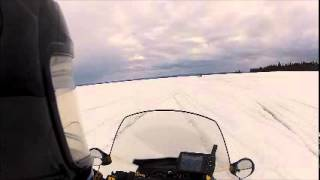 slush outside of goose bay.wmv