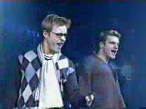 Rent UK Cast 2001 - Adam Rickitt and Damien Flood