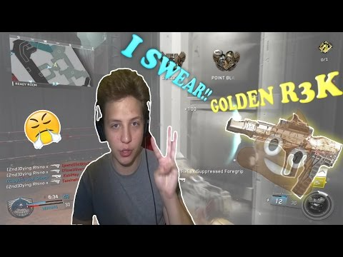 GOLDEN R3K! PROBABLY THE WORST GUN... Infinite Warfare Unlocking Solar #11