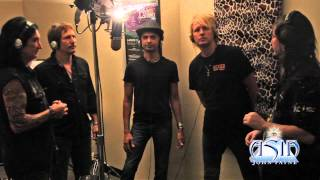 """Seasons Will Change"" backing vocals recording session"