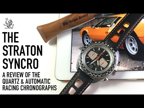 Straton Returns! A Review Of The Syncro - Ultra Cool Affordable Racing Automatic & Quartz Watches