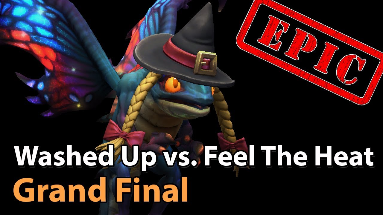 ► EPIC Grand Final - Washed Up vs. Feel The Heat - Panda Cup Q1 - Heroes of the Storm Esports