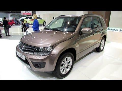 2013 Suzuki Grand Vitara - Exterior and Interior Walkaround - 2012 Paris Auto Show