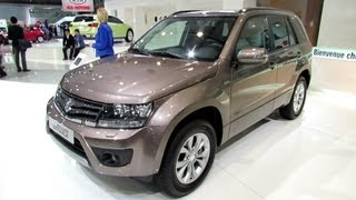 2013 Suzuki Grand Vitara - Exterior and Interior Walkaround - 2012 Paris Auto Show