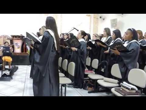Medley Alfa e Ômega, À Ele a Glória - Coral Voz Eterna e Orquestra - IEADERP CRAVINHOS- SP