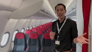 [spin9] พาชม เจาะลึก Airbus A330neo รุ่นใหม่ล่าสุด ลำแรกของ Thai AirAsia X