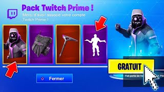 "LA DATE OFFICIEL DU NOUVEAU SKIN ""TWITCH PRIME 3"" SUR FORTNITE ! 😱"