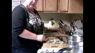 Susen's Kitchen Corner How To Cook Acorn Squash 1