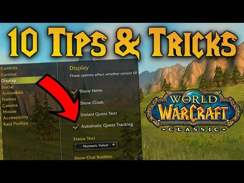 10 First-Time Login Tips & Tricks for Classic WoW