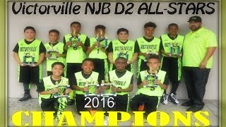 Victorville NJB D2 ALL-STARS vs Covina Valley 2016 Basketball