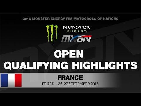 monster energy fim motocross of nations open qualifying. Black Bedroom Furniture Sets. Home Design Ideas