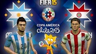 FIFA 15 Copa America 2015 Argentina vs Paraguay