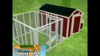 How To Design A Chicken Coop | 3d Chicken Coop Plans Workthrough