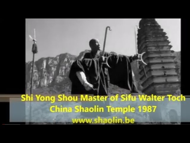 Song Shan graves from Shaolin Monks filmed by Sifu Walter Toch 1988 China