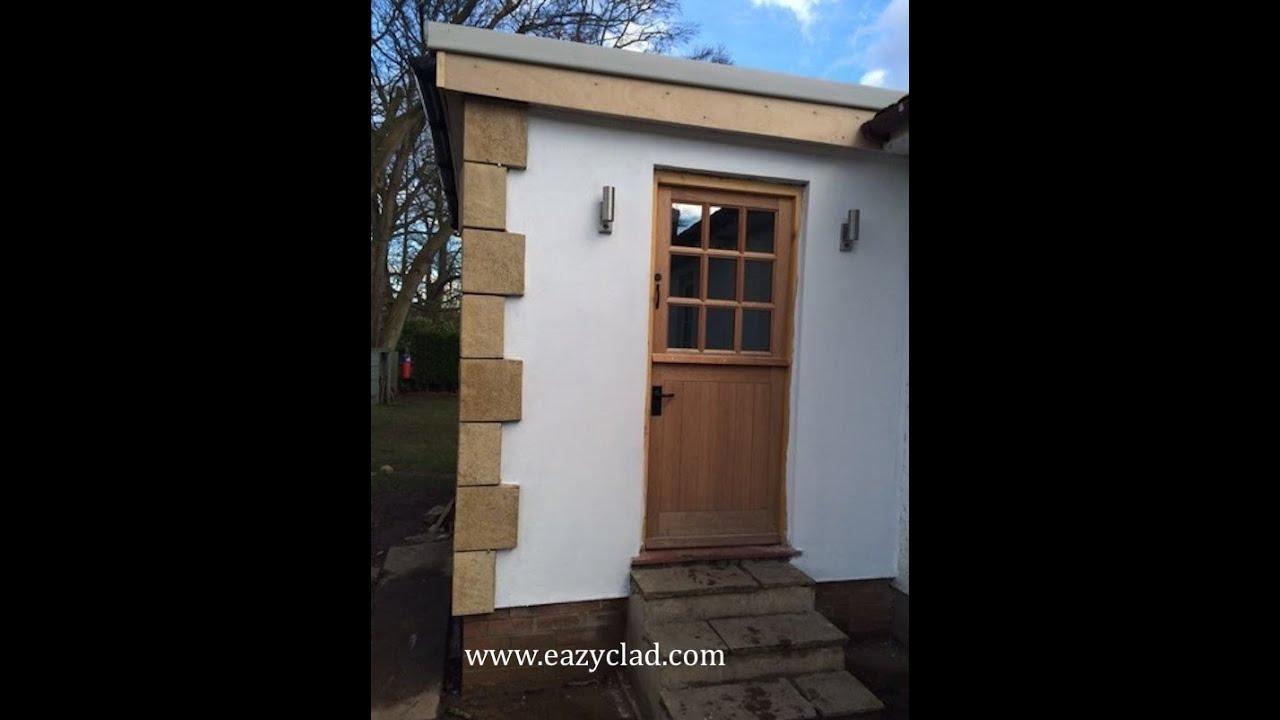 Stone Cladding Corner Quoins easy to fix quoins when