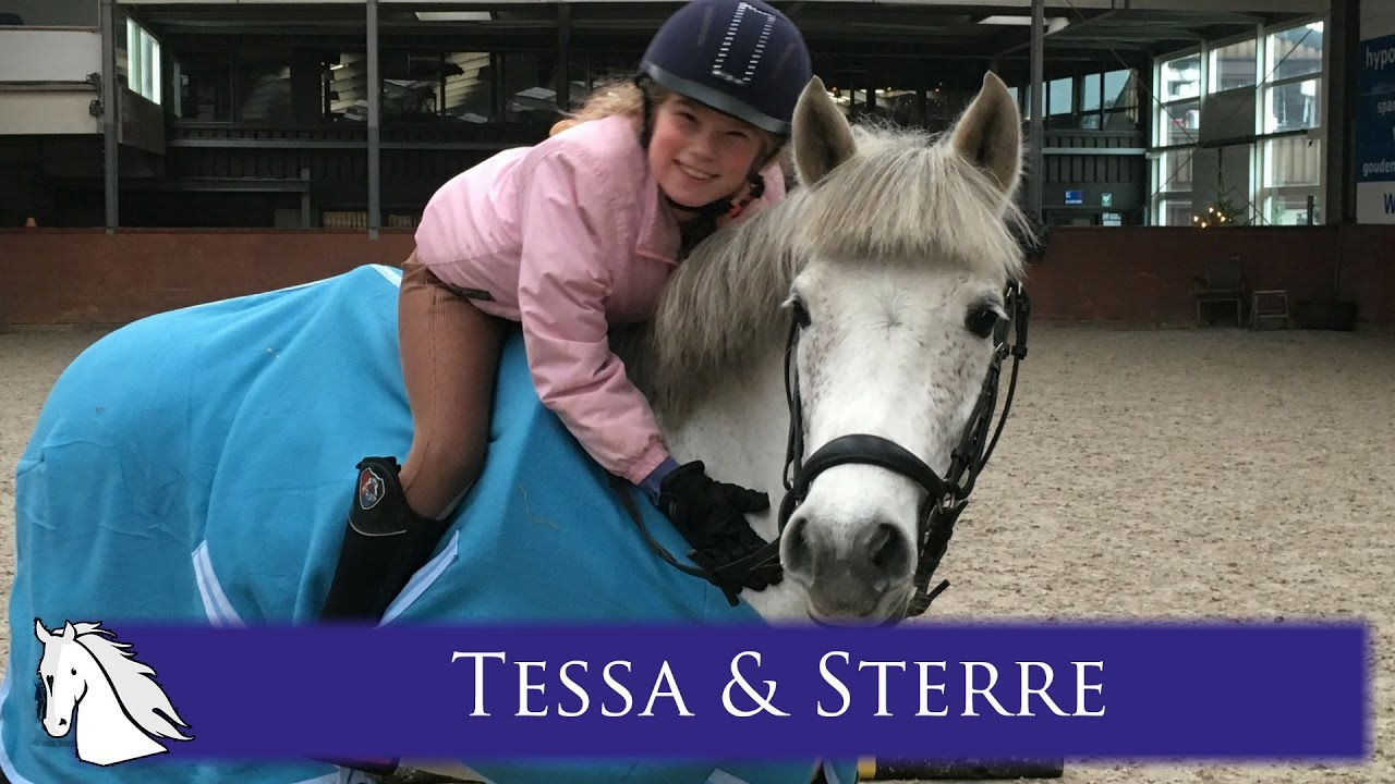 Tessa Krijgt Haar Pony Sterre Hart Voor Paarden Youtube