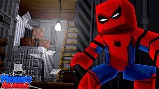 Minecraft: MENINO ARANHA - INVADI UMA BASE SECRETA NA RÚSSIA!!! #234