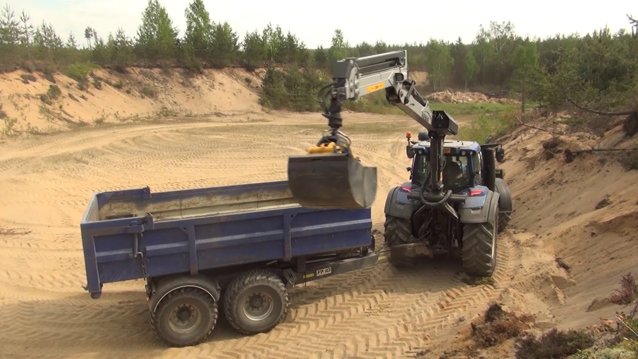 Lieblings KESLA 316T and proG26 grapple with straight-wall gravel buckets #CC_59