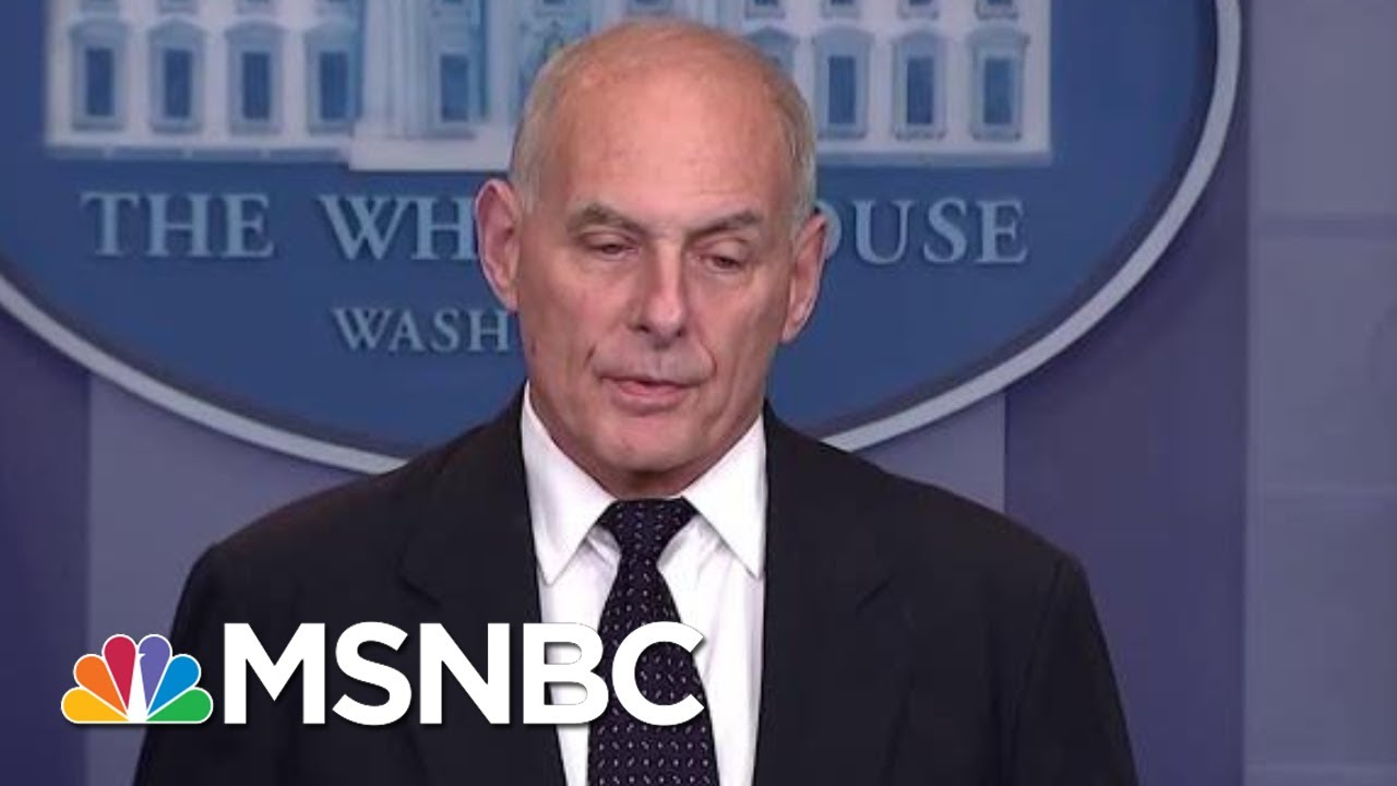 Download Chief Of Staff John Kelly May Soon Depart White House   Andrea Mitchell   MSNBC