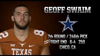 Highlights of Texas TE Geoff Swaim [May 2, 2015]