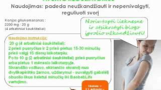 ColorsOfLife BaobabLife naudojimo rekomendacijos LT