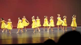 Jordan dance recital - You are my sunshine - 2015-05-03