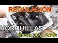 Como Regular Horquillas Caja De Cambio Citroën 2cv6   3cv
