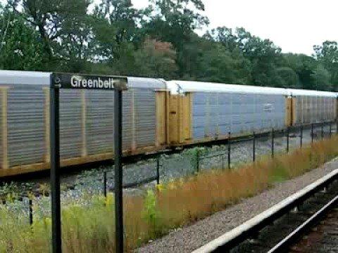 Freight Train - Greenbelt Maryland