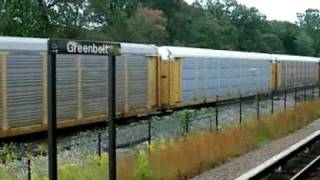 Freight Train - Greenbelt Maryland