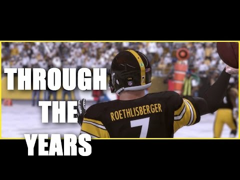 Ben Roethlisberger Through The Years - NCAA Football 03 - Madden 17