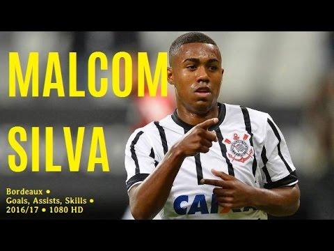MALCOM SILVA ● Bordeaux ● Goals, Assists, Skills ● 2016/17 ● 1080 HD