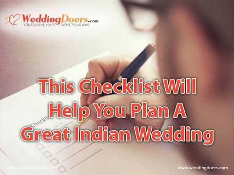 This Checklist Will Help You Plan A Great Indian Wedding