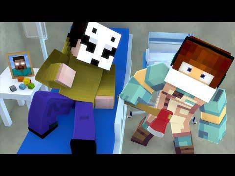Minecraft: HEROBRINE E LICK ESTÃO DOENTES !! - (Cirurgia Minecraft )