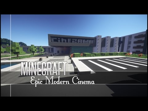 Minecraft Build Review - Epic Modern Cinema