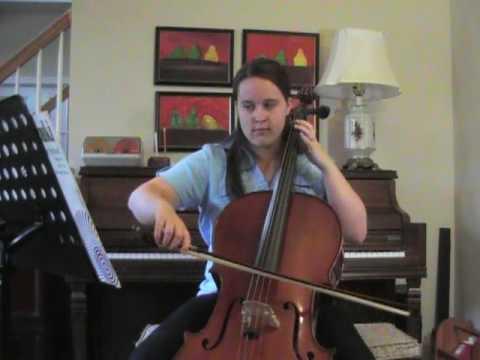 Concerto in G Minor for 2 cellos-Allegro by Vivaldi cello 1