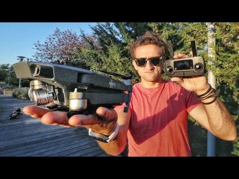 GREATEST DRONE EVER!! DJi Mavic Pro