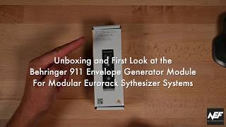 Behringer 911 Envelope Generator Module Unboxing/First Look and build an S-Trigger to CV/Gate cable