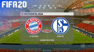 Check out this brand new fifa 20 gameplay of the bundesliga by beatdown gaming on ps4. in match fc bayern münchen take schalke 04 at generic s...