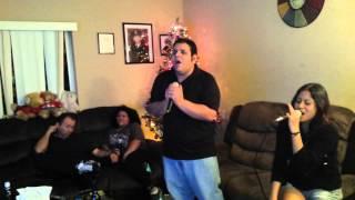 Vivo por Ella cover en karaoke