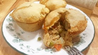 Chicken Pot Pie - World&#39s Best -The Hillbilly Kitchen