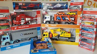 so many new cars, trucks, helicopter Dlan is shocked Video for Kids