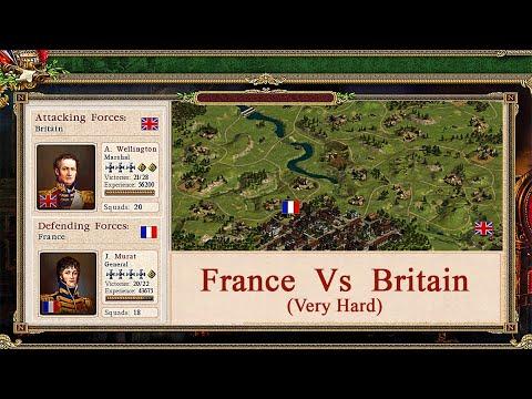 Cossacks 2  Battle for Europe - France Vs Britain (Very Hard) |