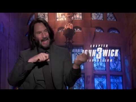 "Keanu Reeves  ""John Wick 3""   Chapter 3   Parabellum"