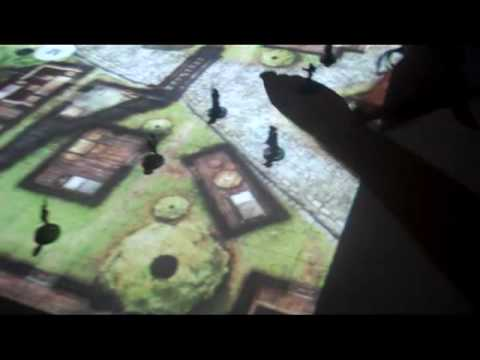 Dungeons & Dragons and Settlers of Catan with Projection